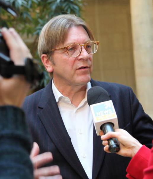Auf einen Kaffee mit Guy Verhofstadt MdEP
